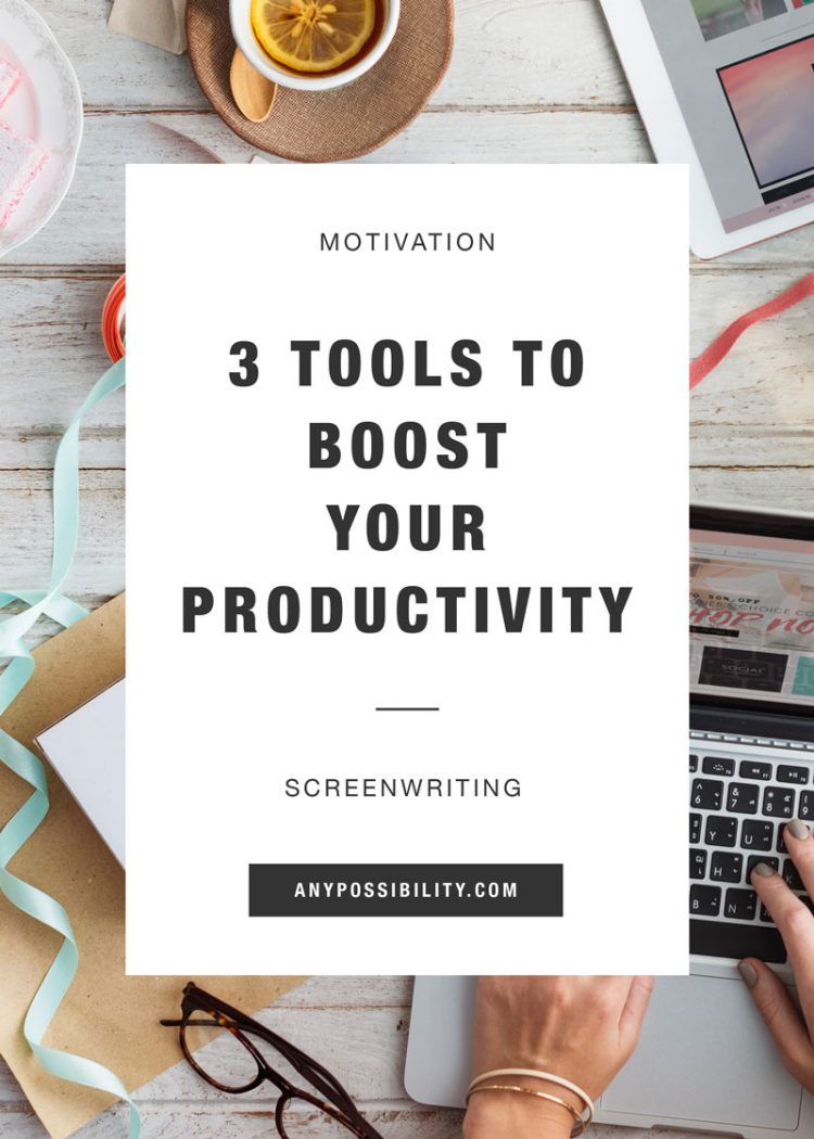 And to start your imagination and boost some inspiration in you we - 3 Tools To Boost Your Productivity