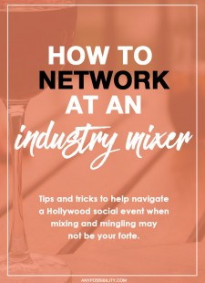 How To Network At An Industry Mixer