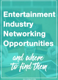 Entertainment Industry Networking Opportunities: Where To Find Them