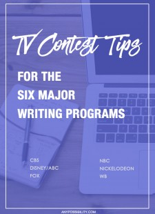 TV Contest Tips For The Six Major Writing Programs