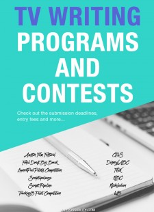 TV Writing Programs and Contests