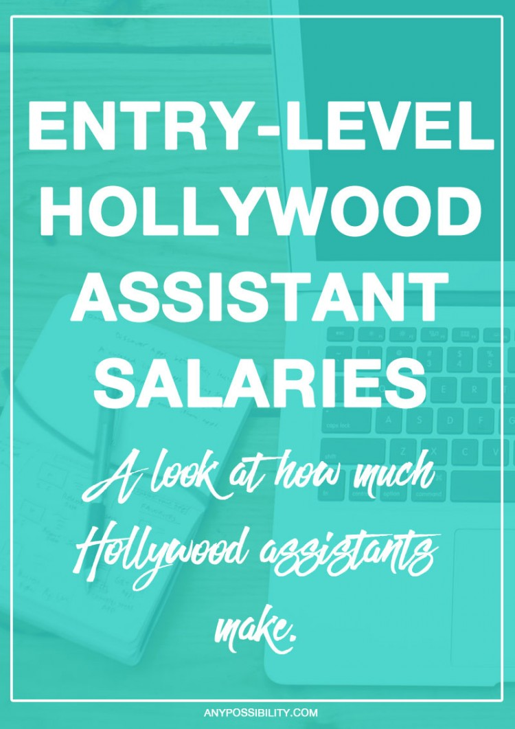 Entry-level Hollywood assistant salaries are tricky to figure out when you're applying for a job. What should you expect? Check out this list.