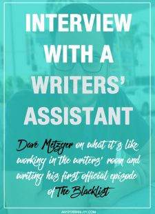 Interview with a Writers' Assistant: Dave Metzger