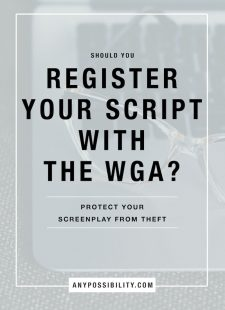 Should You Register Your Script with the WGA?