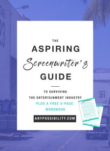 Aspiring Screenwriter's Guide to Surviving the Industry