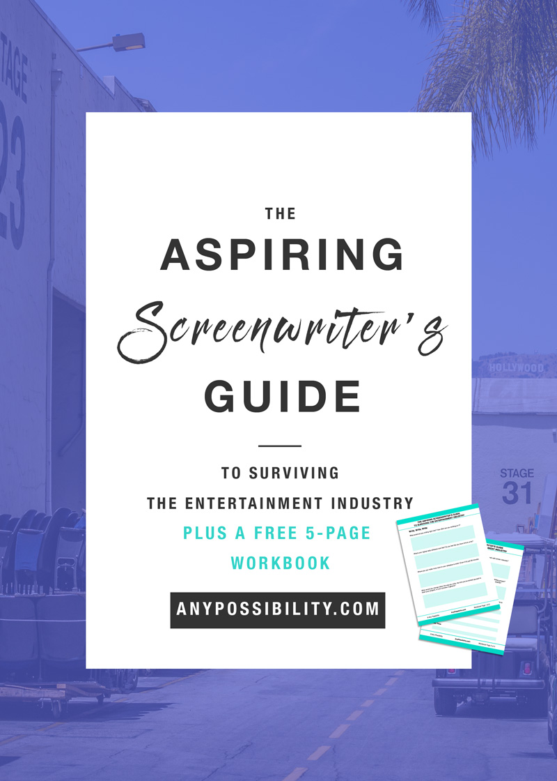 The Aspiring Screenwriters Guide to Surviving the Entertainment Industry. Learn how to build a solid foundation for your writing career.