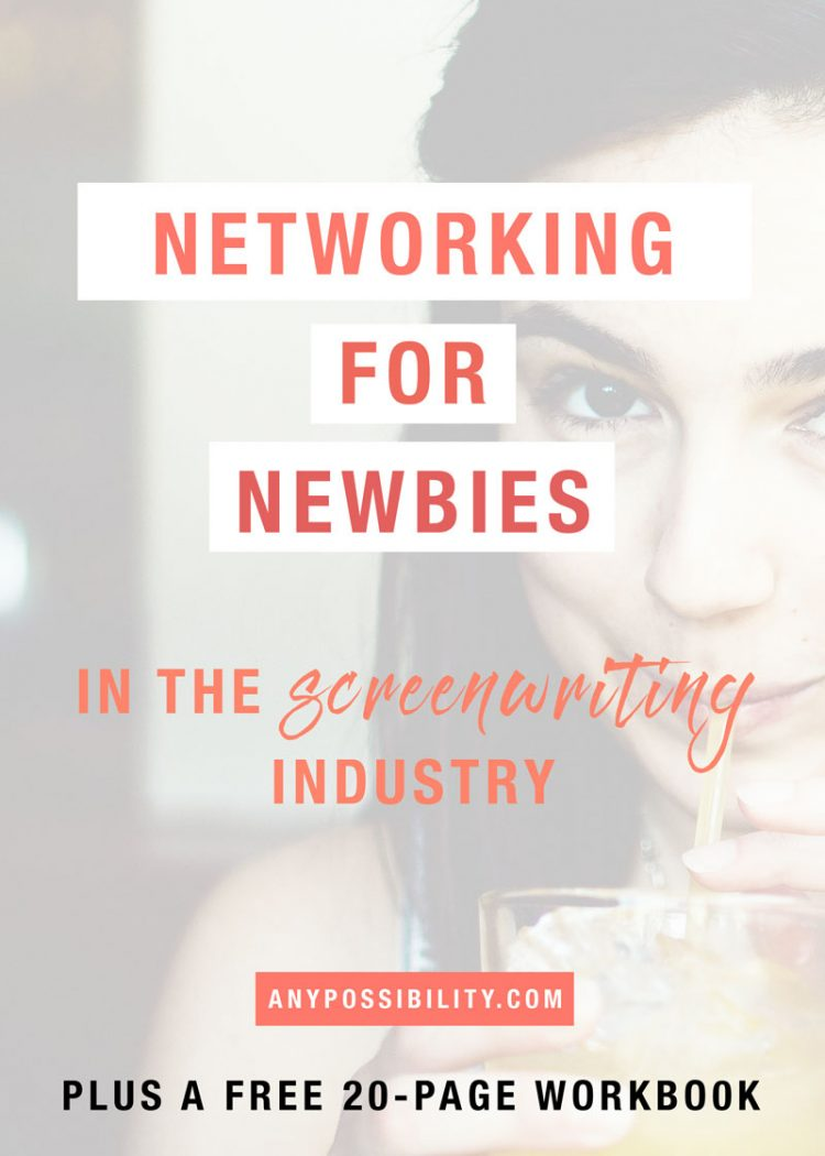 Networking for Newbies in the Screenwriting Industry. Start meeting people! Expand your network. Engage with your community. It's all about who you know.