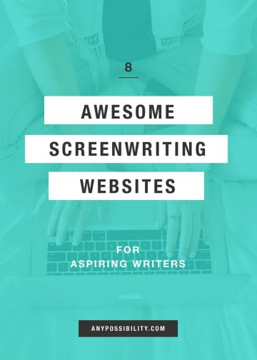 8 Awesome Screenwriting Websites for Aspiring Writers. The best information is free information, and these sites do a great job at sharing valuable industry knowledge, insights, and resources.