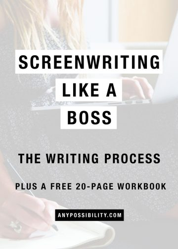 The writing process for screenwriters unlocks the key to a successful career in the film industry, tv industry, and entertainment industry in general.