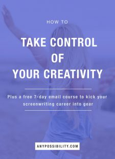 How to Take Control of Your Creativity: The Write Track