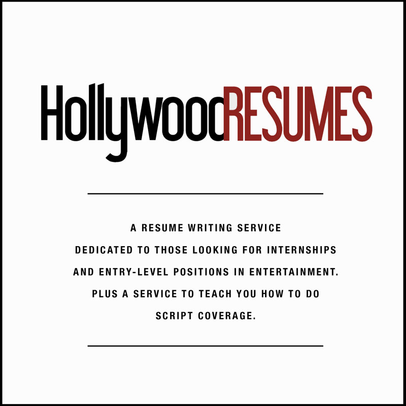 Hollywood Resumesu0027 Resume Service  Resume Service