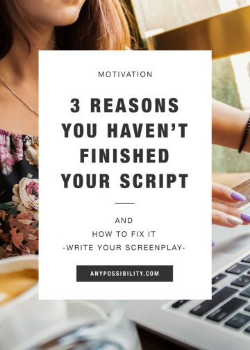Finish Your Script