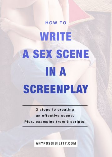 How-To-Write-A-Sex-Scene-In-A-Screenplay