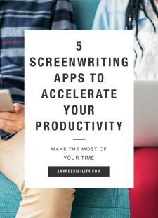 5 Screenwriting Apps to Accelerate Your Productivity