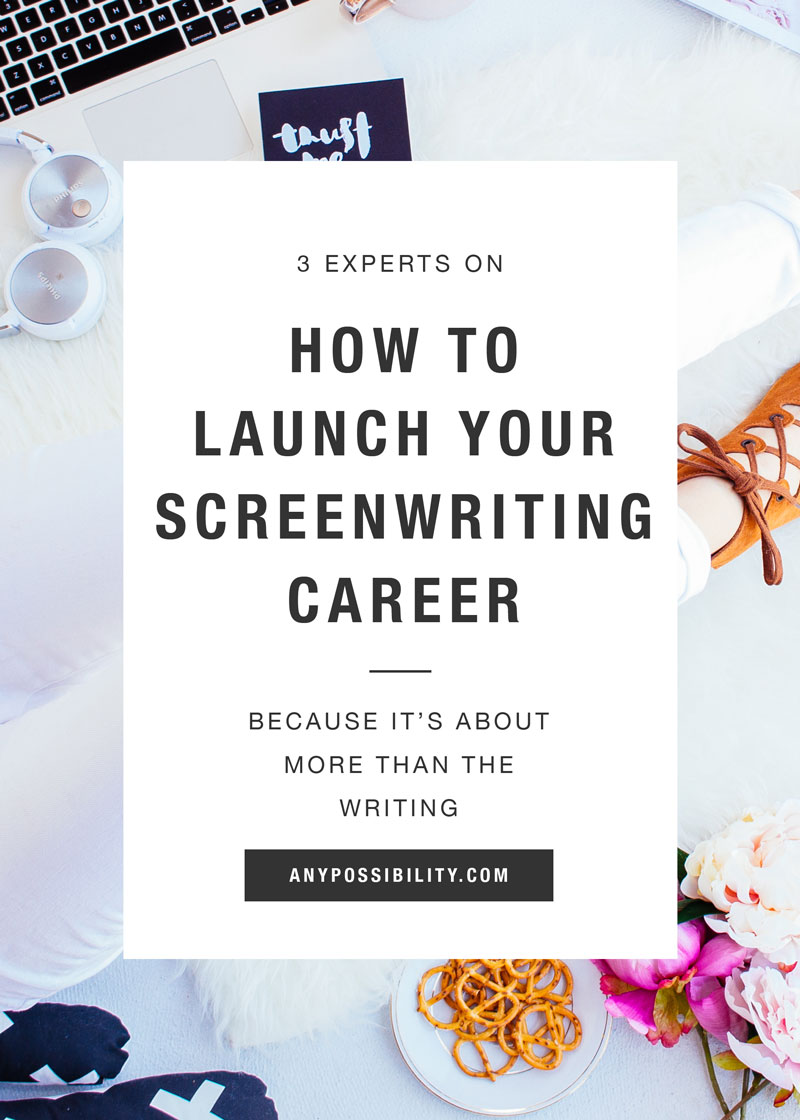 Screenwriting Career