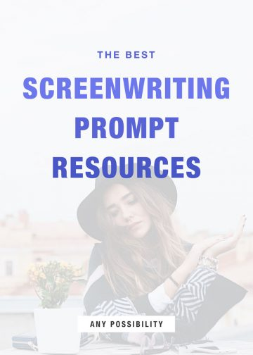 screenwriting prompt resources