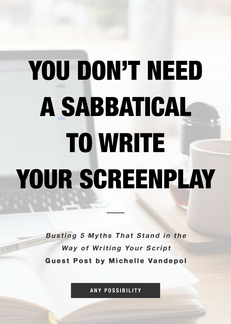 Screenwriting-Sabbatical