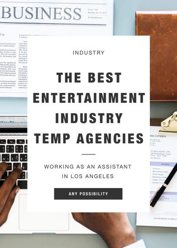 The Best Entertainment Industry Temp Agencies in LA